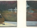 Crosses on the Highway, diptych