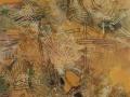 "1. Things Fall Apart, 24""x18, encaustic medium with oil pigment, 2016, Rosalie Matchett"