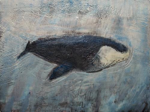 Imagined Bowhead Whale #4